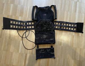 LBT London Bridge G3 Plate Carrier V2 UKSF, DEVGRU, KSK Multicam Black Large Neu
