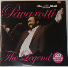PAVAROTTI: THE LEGEND: 20 GREATEST TRACKS LIVE PROMO CD: NESSUN DORMA ETC
