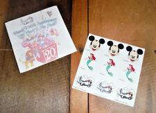 Delta & Walt Disney Souvenir 20th Anniversary Trip Diary Booklet w/Stickers 90s
