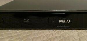 PHILLIPS BDP 7200 HD BLURAY DVD DISC PLAYER w/Remote Control
