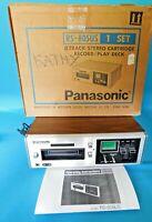 VINTAGE NATIONAL PANASONIC 8-TRACK RECORDER/PLAYER RS805US WORKING BOX MANUAL