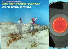 Jo Stafford Art van Damme Quintet Jap Reissue LP NM Once over lightly Vocal Jazz