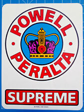 "POWELL STICKER PACK  #51 OG SUPREME ***A MASSIVE 12"" WHOPPER!!!***"