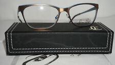 89303a9cbf Lisa Loeb New Eyeglasses Flying 179 Mocha 52 16 135