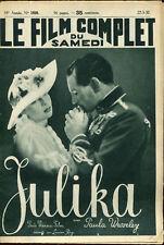 Le Film Complet 1930 - Julika, film allemand - 27 mars 1937