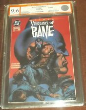 BATMAN VENGEANCE OF BANE #1 EGC ( 9.6 ) WHITE PAGES 1ST APP BANE EURO GRADER