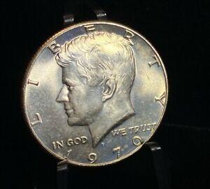 1970 D Kennedy Silver Half Dollar 50C