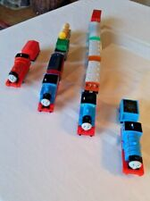 Thomas The Train Motorized Engines & Cars -Lot of 4 Engines 9 Cars