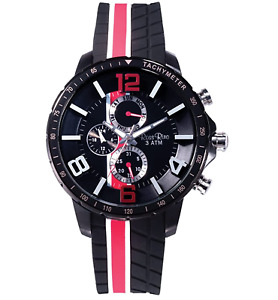 Ross Rino 20th Ed. Sport Unisex Quartz Watch with Black Dial Analogue Display