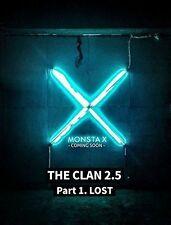 Monsta X - Clan 2.5 Part 1. Lost (Found Version) [New CD] Asia - Import