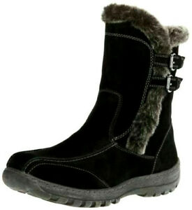 Woman's Spring Step Achieve Boots Black Size 7.5/ 8 EUR 38 New