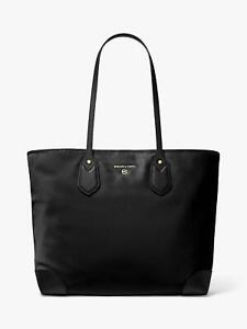 Michael Kors Eva Large Tote Bag Black Brand New With Tags £210 - Genuine Item