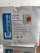 2 X Rotary Isolater