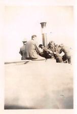 Hafenrundfahrt deutsche Soldaten in Blaye Frankreich
