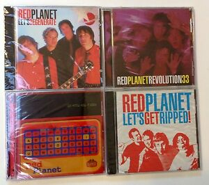 Red Planet LOT of 4 CDs New Wave Garage Punk Degenerate Revolution Ripped Geared