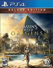 Assassin's Creed: Origins -- Deluxe Edition (Sony PlayStation 4, 2017)