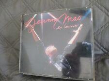 """RARE! COFFRET 2 CD """"JEANNE MAS EN CONCERT 1987"""""""