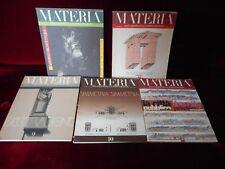 Livres ARCHITECTURE - 5 MATERIA - Rivista d architettura - architectural review