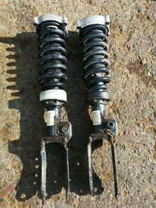 PORSCHE CAYENNE S 4.5 V8 FRONT SUSPENSION LEGS SHOCKS AND SPRINGS 2003