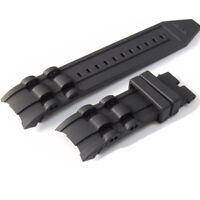 26mm Silicona Caucho reloj banda correa Watch Strap Band para Invicta Pro