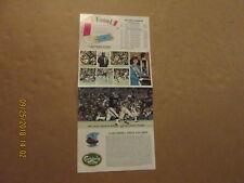 CFL Toronto Argonauts Vintage Circa 1981 Schedule & Season Ticket Brochure