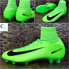 NIKE Junior MERCURIAL SUPERFLY V FG Football Boots Uk 4.5 Eu 37.5 831943-303