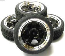 Neumáticos, llantas y bujes rueda para vehículos de radiocontrol 1:10