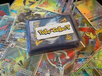 Pokemon Card Lot 20 Holo & Rare Pack! EX, GX, V, VMAX, Rainbow, Secret, Full Art