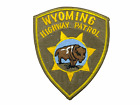 US Wyoming Highway Patrol Police Patch 4