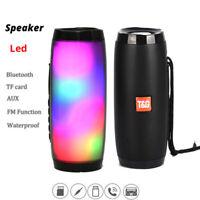 Wireless Bluetooth Speaker Portable Column 10W Subwoofer Sound Bar Support FM