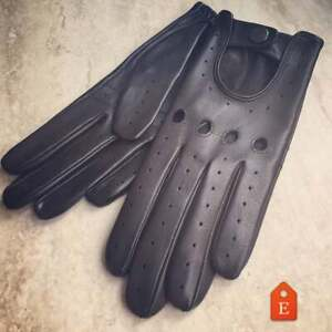 Leather Gloves for Ladies Driving Handmade Italian Lambskin