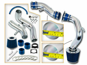 BLUE COLD AIR INTAKE INDUCTION+FILTER For 00-01 Sentra SE Sedan 2.0L DOHC