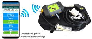 Rauchgasanalysegerät Rauchgasmessung Abgasmessung DC710