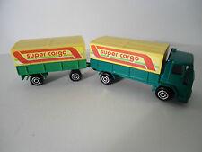 Ford LKW mit Anhänger super cargo Majorette S 300