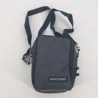 Vtg Case Logic Walkman Cassette Player Carry Soft Case w/ Strap Portable Gray