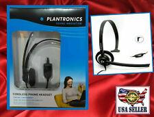 Plantronics M214C Mono Headset for 2.5mm  & 3.5mm Jack- Most Cordless Phones Mob