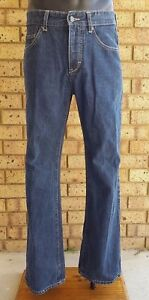 SAMUEL AND KEVIN 801 Men's Jeans size 32 Blue Denim Good Condition