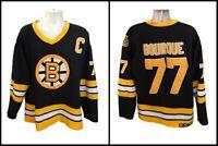 Boston Bruins Ray Bourque CCM Vintage Mens 56 Sewn Hockey Jersey Fight Strap