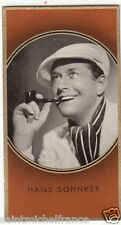 HANS SÖHNKER  ACTEUR ACTOR GERMANY DEUTSCHLAND ALLEMAGNE  IMAGE CARD 30s