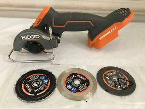 RIDGID R87547B Multi-Material Saw Compact Cordless Brushless 18-Volt VG M