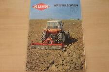 162911) Kuhn Kreiselegge HR Prospekt 198?