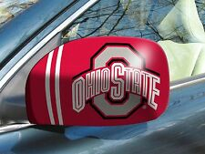 Ohio State Buckeyes Mirror Covers - Size Small for Cars & Smaller SUVs