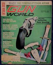 Magazine GUN WORLD December 1977 SAVAGE Model 111 RIFLE, R.W. WILSON: Knifemaker