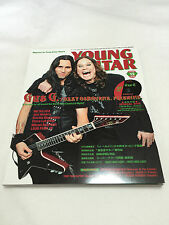 YOUNG GUITAR Magazine 2010 DEC. Printed Japan DVD Regioncode2 Gus G Ozzy