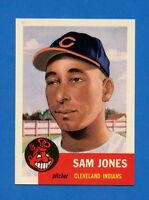1953 Topps Archives # 6 Samuel Jones -- Cleveland Indians