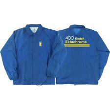 Girl Kodak Ektachrome Coaches Jacket M - Blue