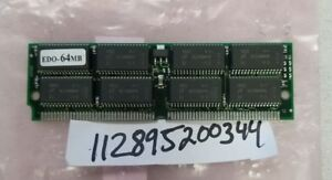 64MB 16X32  EDO SIMM NON-ECC NON-PARITY 72PINS SINGLE RANK  16X4  50NS  RAM FOR