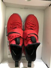 Nike Air Sneakers Lebron James XIV 14 University Red Brick Road 852405 600 SZ 9