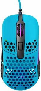 [From Japan] Xtrfy M42 RGB Symmetrical Gaming Mouse Miami Blue 701304