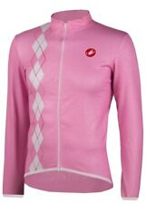 Castelli Diamonte Women's Long Sleeve Cycling Jersey Size Large Pink : SAVE 50%